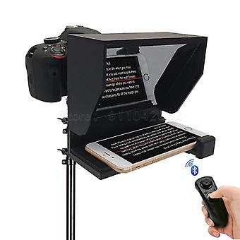 Professional Mini Teleprompter Portable Inscriber, Mobile Teleprompter,