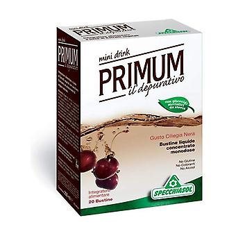 Primum Depurativo Mini Drink With Elderberry 20 infusion bags