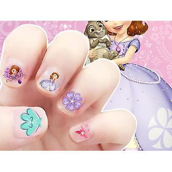 Cartoon Design Nagel Sticker -disney Prinses Sofia, Sneeuwwitje, Mickey Minni