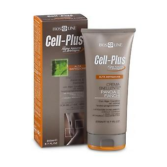 Belly and hips slimming cream 200 ml of cream