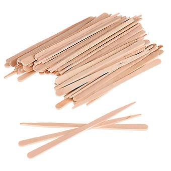 Woman Wooden Body Hair Removal Sticks, Wax, Waxing Disposable Sticks, Beauty