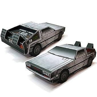 בחזרה לעתיד DMC-12 מכונית- קיפול חיתוך 3D דגם נייר