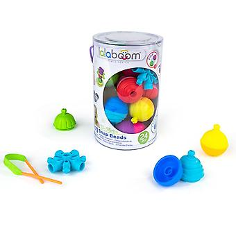 Lalaboom educational beads and accessories 24pk