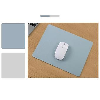 Double-side Pu Mouse Pad Anti-slip Waterproof Natural Rubber Game Desk Mat