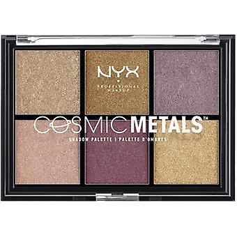 NYX Kosmiske metaller SkyggePalett 6 Nyanser