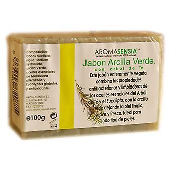Aromasensia Green Clay Tea Tree Soap 100 gr