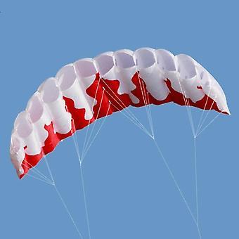 Rainbow Dual Line, Kitesurfing Stunt Laskuvarjo, Pehmeä, Parafoil Surfing Leija,