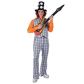 Mens Slade Noddy Holder Bangin ' man Rock Star 70s Music fancy Dress