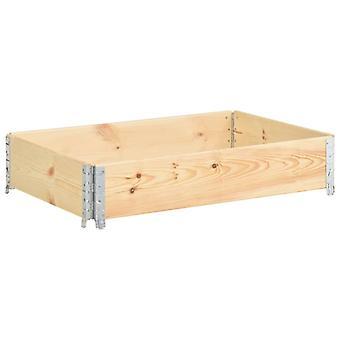 vidaXL Pallet top frame 50×100 cm pine solid wood