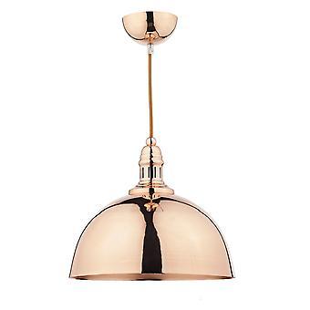 DAR YOKO Dome Anhänger Licht Kupfer, 1x E27