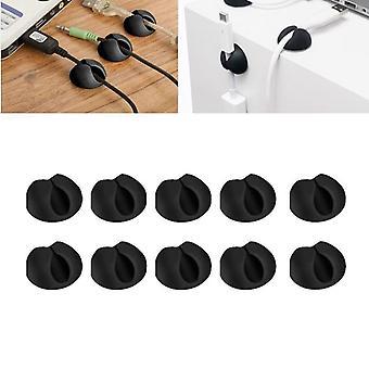 Multi-purpose Wire Desktop Cable Holder Clip
