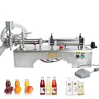 Machine de remplissage de liquide à piston pneumatique