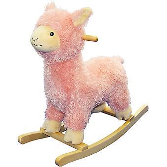 Rocking Llama (Pink)