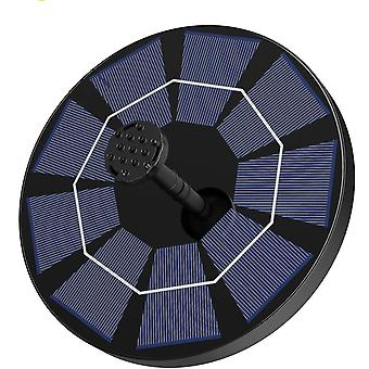 Portable solar powered water fountain pump dt4431