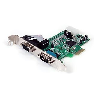 2 κάρτα προσαρμοστών PCIe λιμένων w/16550