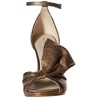 Kenneth Cole New York Womens Blaine Leather Open Toe Special Occasion Ankle Strap Sandals