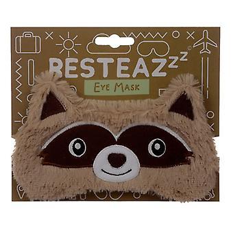 Maschera occhi raccoon cutiemals peluche
