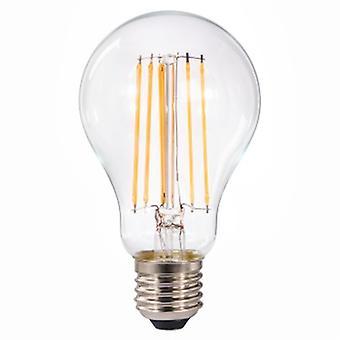 Xavax 0011260012W E27A + + Warm White?LED Lamp (Warm White, Transparent, A + +, 92MA, 12kWh, 6.7cm)