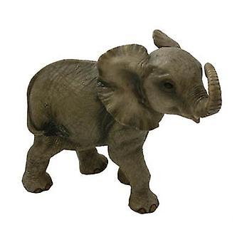 Elephant Calf Figurine By Lesser & Pavey