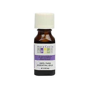 Aura Cacia Aromatherapy Oil, Blend Harvest Lavender 0.5 Fl Oz