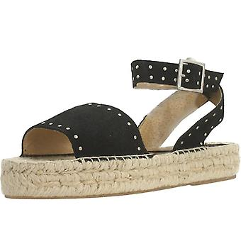 Clover Sandalias 7936c Color Negro