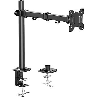 """HanFei 13""""- 32"""" Single Monitor Mount, Height Adjustable Arm for LCD LED Screens, 2"""