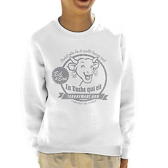 Den grinende ko produit ekstra fin kid's sweatshirt