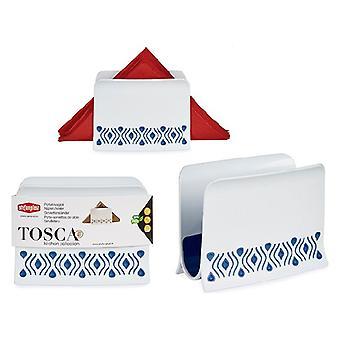 Napkin holder Tosca Blue Plastic