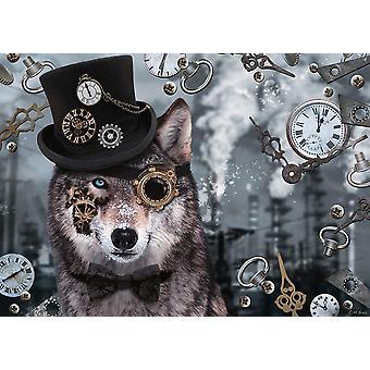 Schmidt Markus Binz: Steampunk Wolf Jigsaw Puzzle (1000 Pieces)