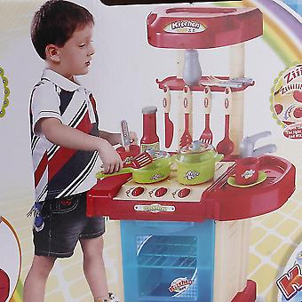 Kinder spielen Spielzeug Mädchen Baby Spielzeug Küche Kochen Simulation Tisch Utensilien Spielzeug