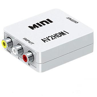 AV hdmi video audio muunnin AV2 HDMI RCA HDMI 1080P Video Audio Muunnin HDMI Mini Tuki