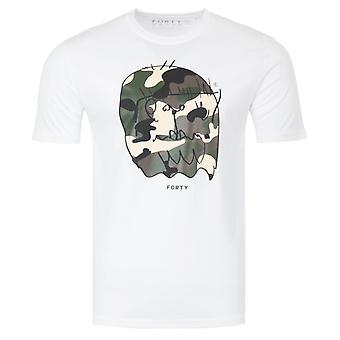 Forty Benjamin Original Organic Cotton T-Shirt - White
