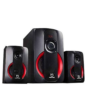 Alto-falantes multimídia Hiditec SPK010000 80W Bluetooth