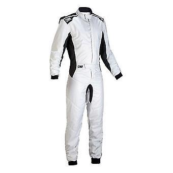Racing buksedragt OMP One-S Grey (Størrelse 52)
