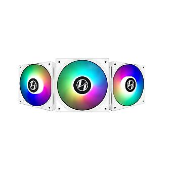 Lian-Li ST120 Adressierbarer RGB 120mm Weißer Lüfter mit Controller - Triple Pack