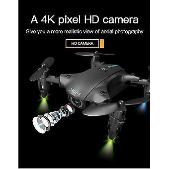 Мини-дрон с камерой 4K HD WiFi FPV RC вертолет 360 ° Прокатка один ключ возврата | RC Квадрокоптер