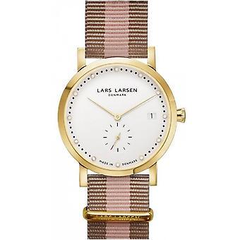 LLarsen (Lars Larsen Two-ColourEd Nylon) 137GWSNG Women's Watch