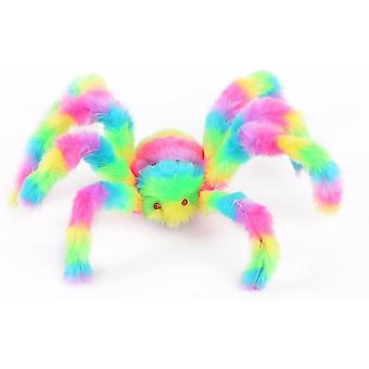 Robotic toys colorful spider toy stuffed animal plush toy 90cm