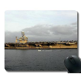 Mouse pads 220x180x3 mouse pad with stitched edge military uss theodore roosevelt cvn 71 warship non-slip