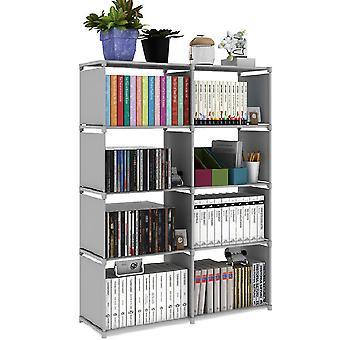 Nowoczesne półki na książki 5-poziomowa półka do przechowywania