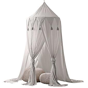 Children Round Dome Netting Curtains Baby Boys Girls Games House