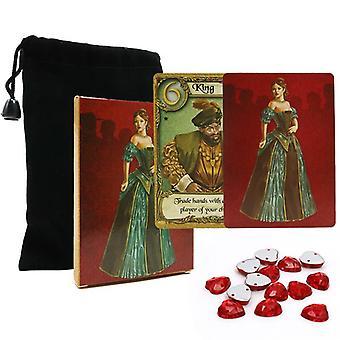 2020 Full English Love Letter Cards Jeu de cartes à jouer de haute qualité pour 2-4 joueurs Family Party Fun Board Game
