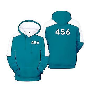 Ywy13 Squid Game Actor's Jacket Hooded Sweatshirt