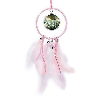grønt bilde natur drøm catcher liten bell soverom dekor