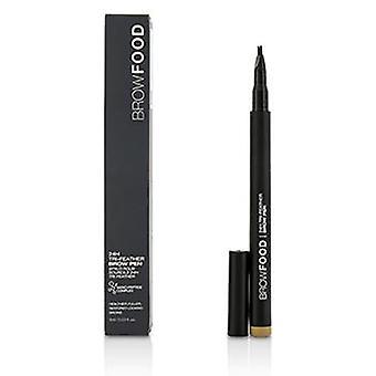 Lashfood Browfood 24h Tri Feather Brow Pen - Dark Blonde - 1ml/0.03oz