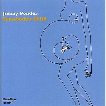 Jimmy Ponder - Somebody's Child [CD] USA import