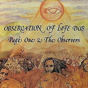 Page One & the Observers - Page One & the Observers-Observation O [Vinyl] USA import
