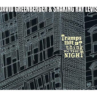 David Greenberger & Shaking Ray Levis - Tramps That Go Think in the Night [CD] USA import