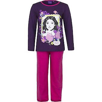 Girls Disney Violetta Long Sleeve Pyjama Set HO2079