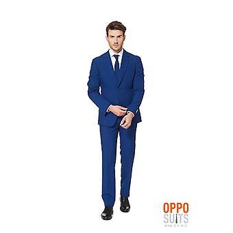 Navy Royal suit dark blue Opposuit slimline Premium 3-piece EU SIZES